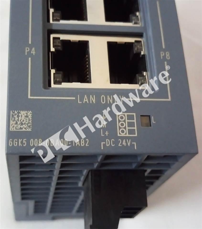 Plc Hardware Siemens 6gk5008 0ba00 1ab2 Scalance Xb008