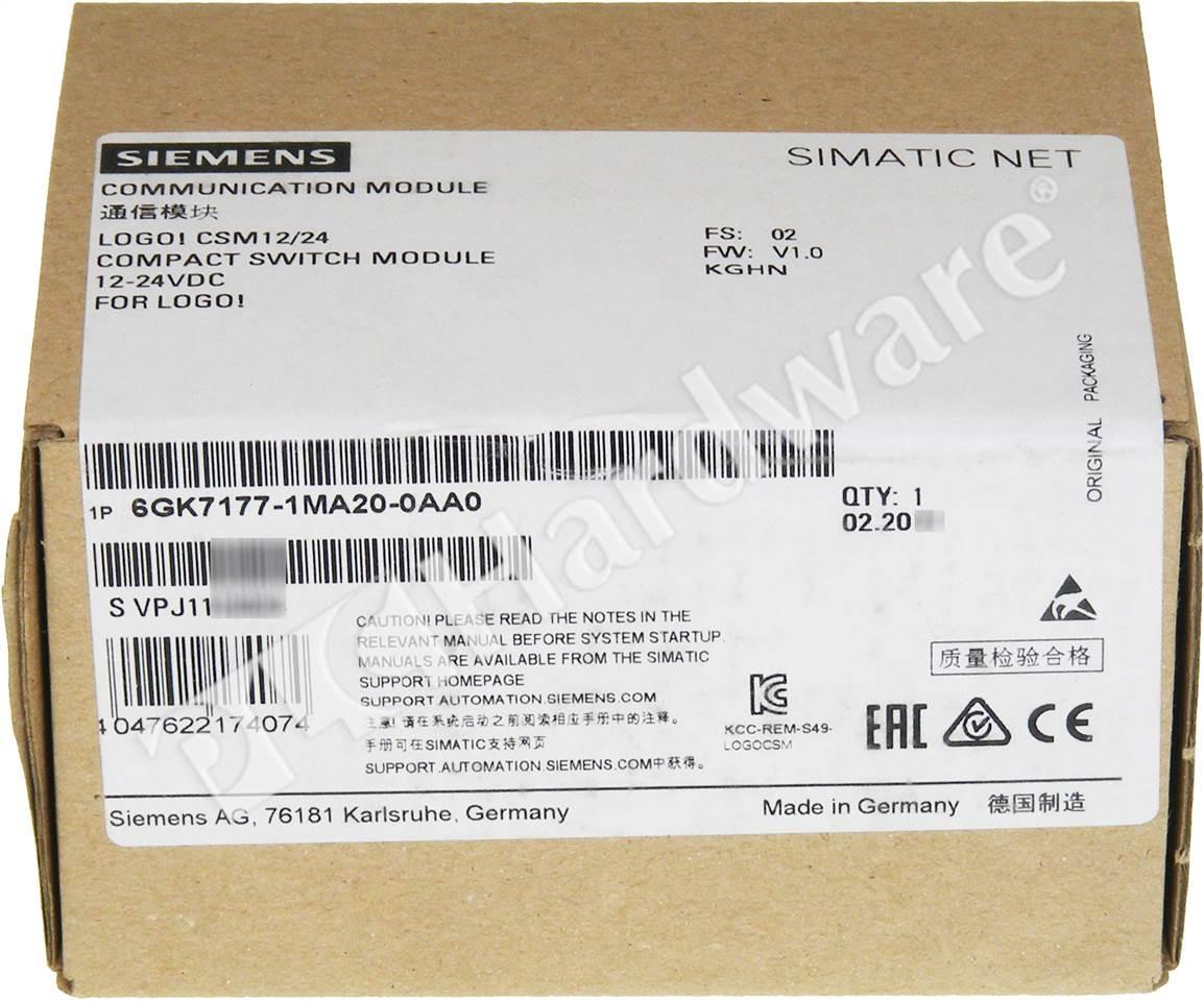 Plc Hardware Siemens 6gk7177 1ma20 0aa0 New Factory Sealed