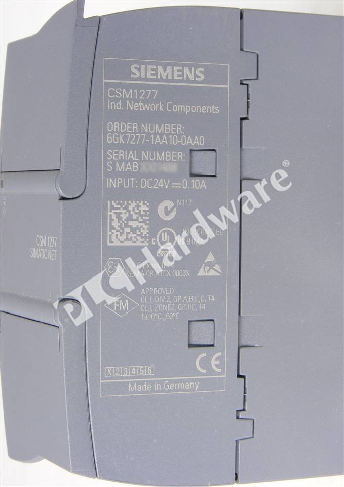 Plc Hardware Siemens 6gk7277 1aa10 0aa0 New Surplus Sealed