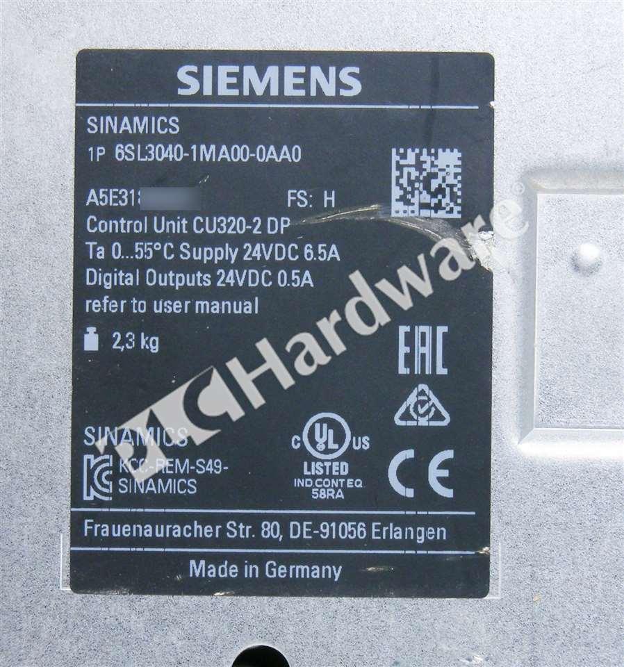 PLC Processors Siemens 6SL3040-1MA00-0AA0 6SL3 040-1MA00-0AA0 ...