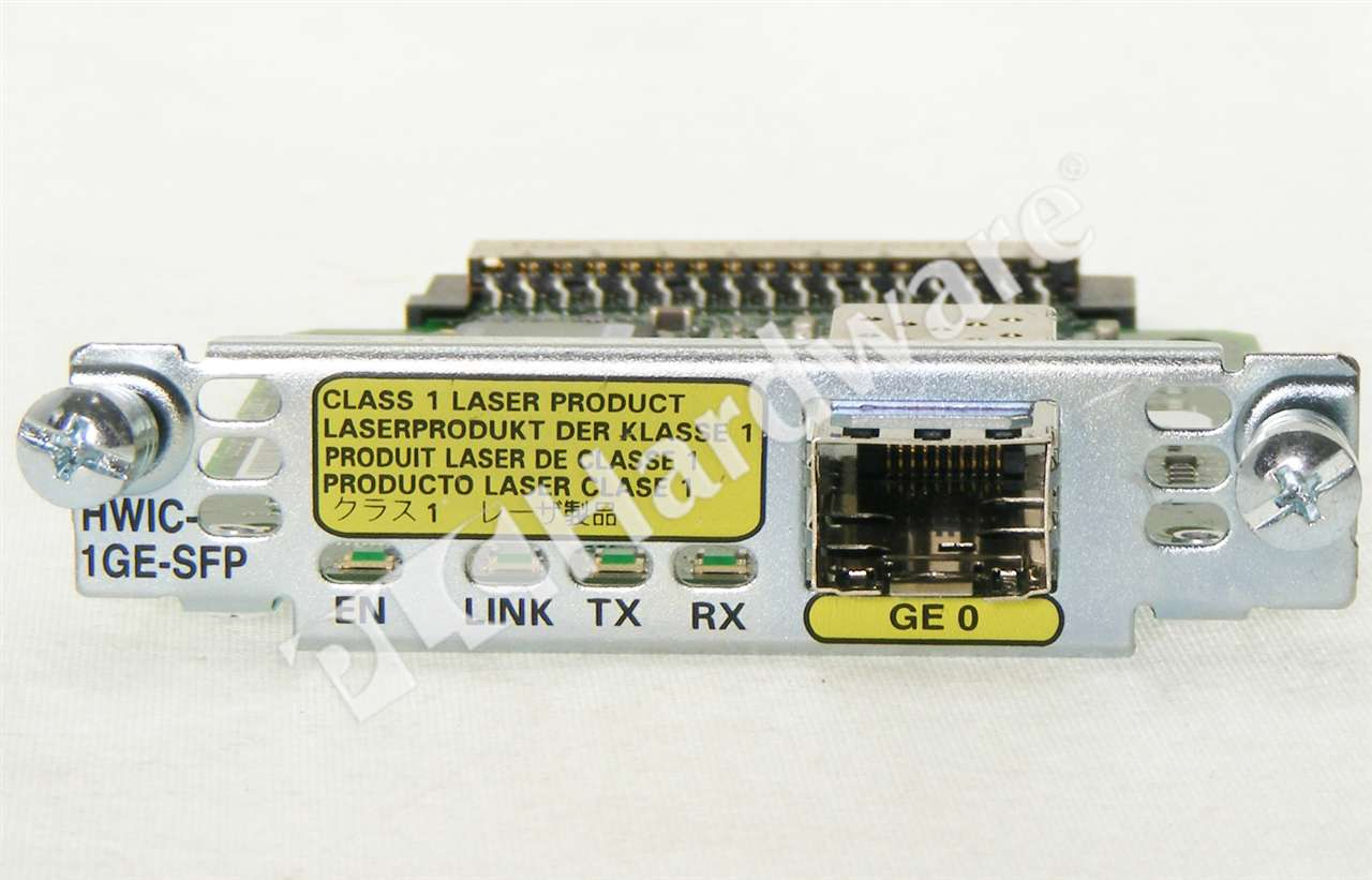 Plc Hardware Cisco Hwic 1ge Sfp Refurbished Factory Sealed Intervlan Routing With Catalyst 3750 3560 3550 Series Switches 2