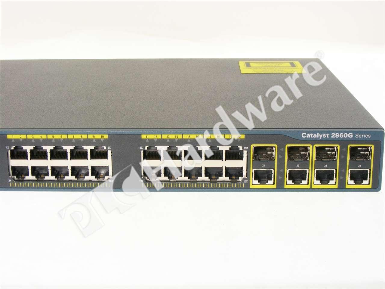 Cisco Ws c2960g 24tc l manual
