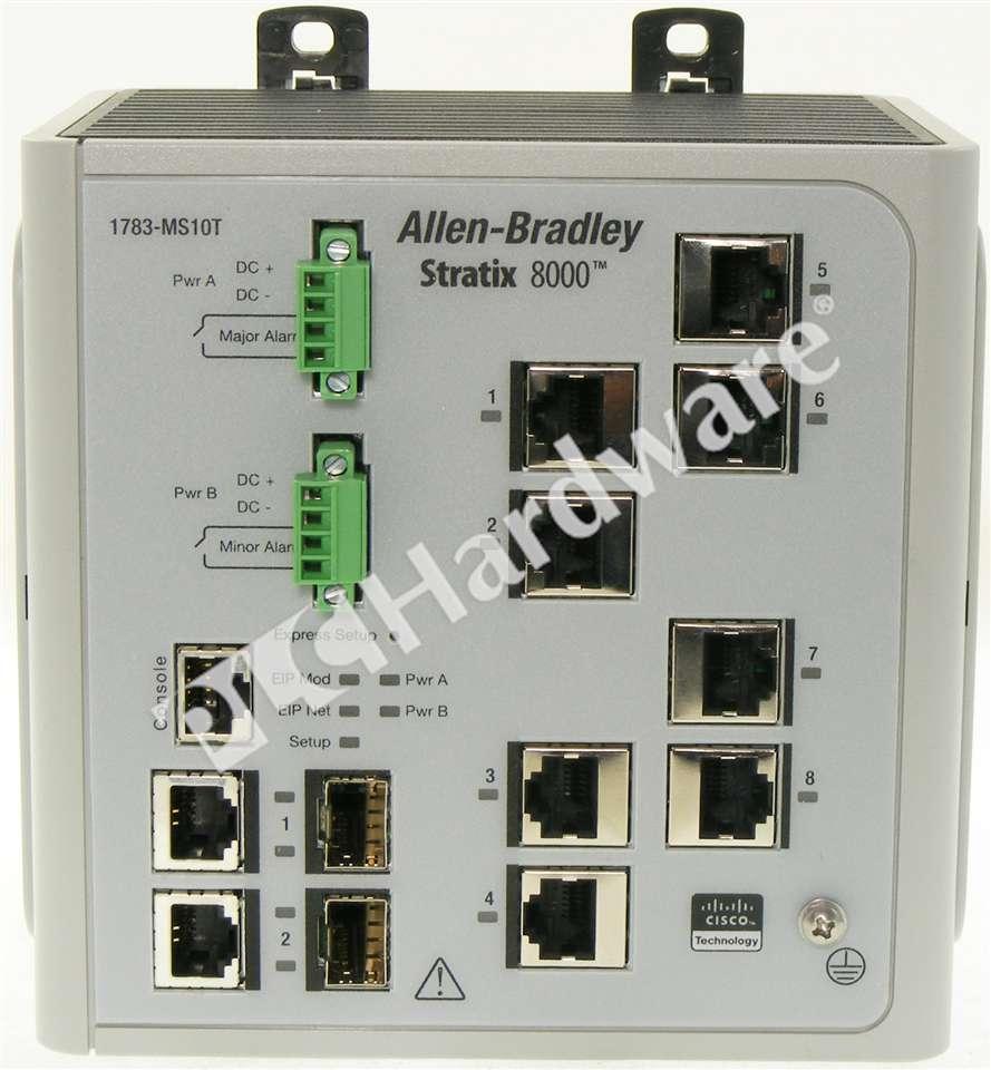 Plc Hardware Allen Bradley 1783 Ms10t Series A Used In